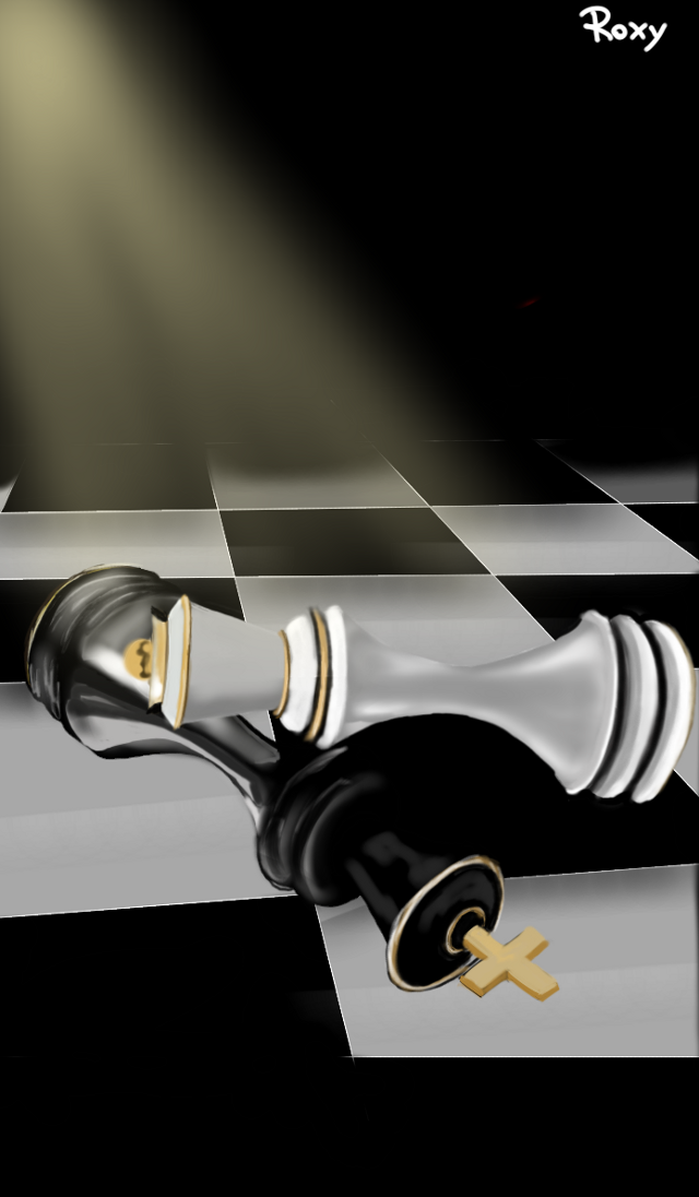 #wdptwilight#chess #sketch #SketchBook #paint #picture #draw #love  Check mate