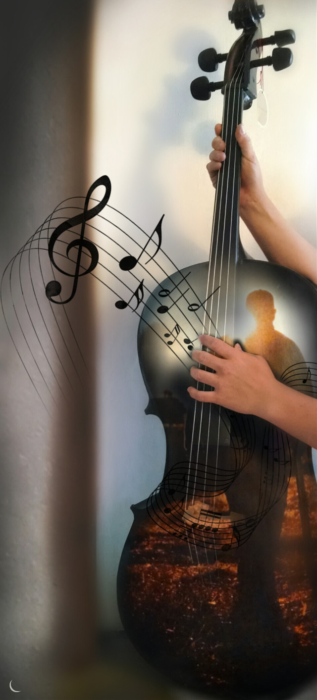#DoubleExposure #music #emotions  #hands #girl #pretty #cello  #nice #playmusic