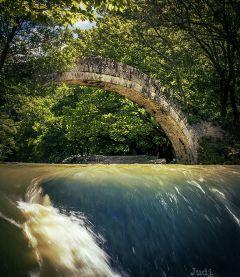 travel photography nature greece bridge