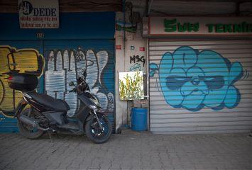 graffiti streetart byke