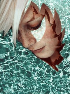 freetoedit edited remixed water portrait