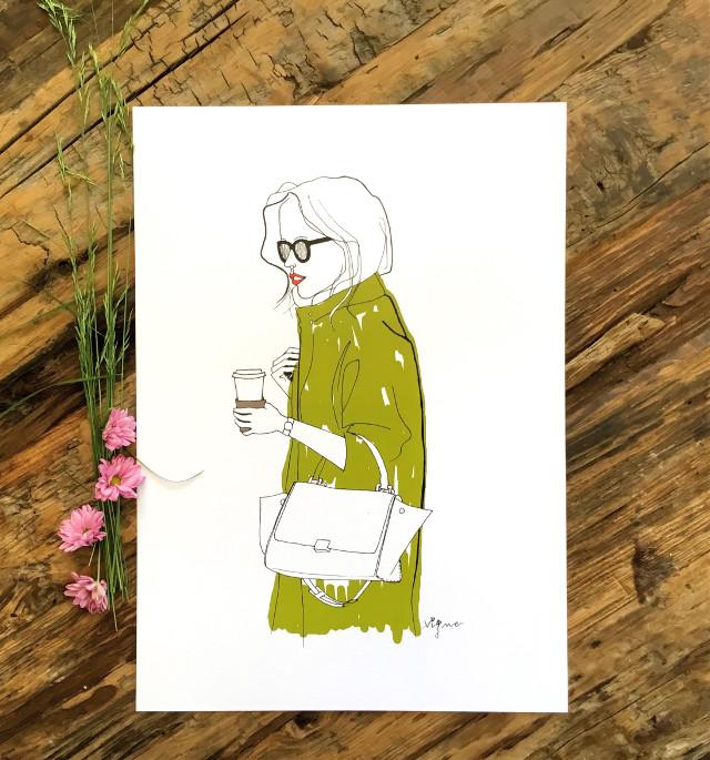 Coffe time!! By Rocio Vigne