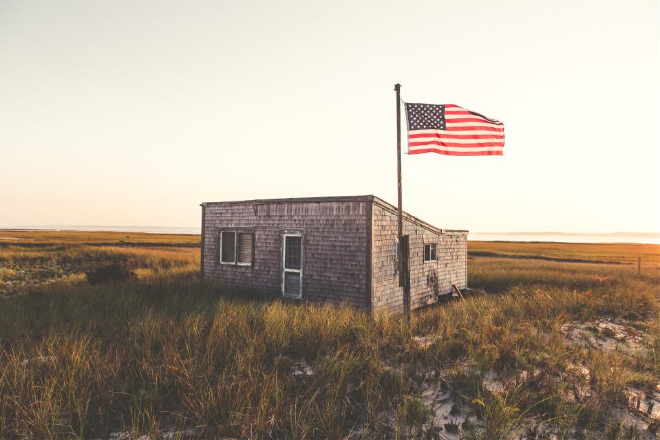 Unsplash (Public Domain) #FreeToEdit #flag #sand #outpost #old #glory