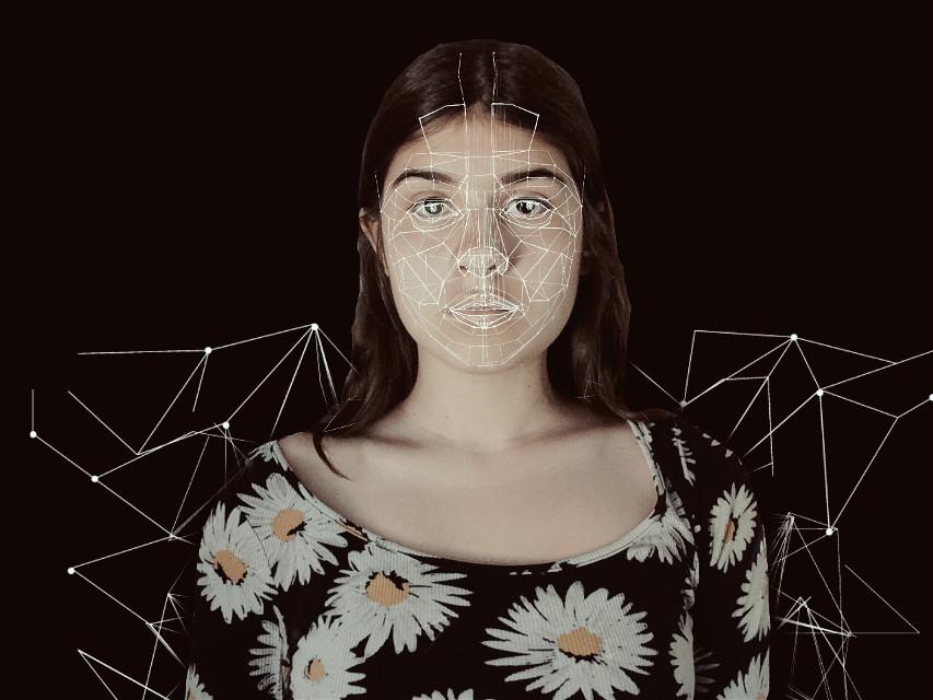 Introvert✨ #polygon #photography #interesting #edit #dark #background