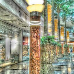 interesting hdr art mall