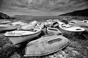 summer travel photography blackandwhite croatia