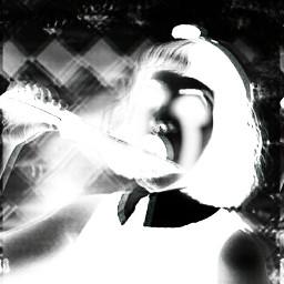 baby cute music holga popart people creepy Melaniemartinez crybaby dark scary spooky Knife
