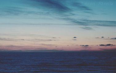 sunset sea sky holydays beach