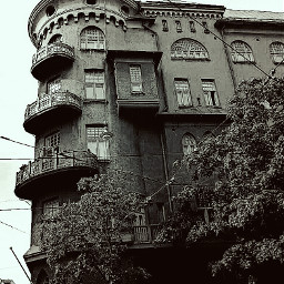 blackandwhite hdr architecture photography goth