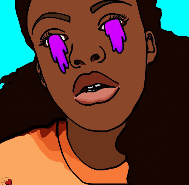 I made me lol 🤑😍 #dope #cartoon