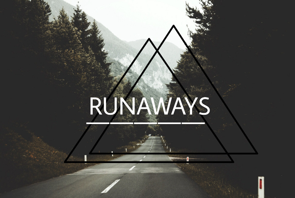 #FreeToEdit  #RUNAWAYS  #Away  #One way  #Goodbye