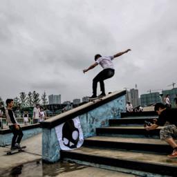 freetoedit skateboarding 5050 nanjing