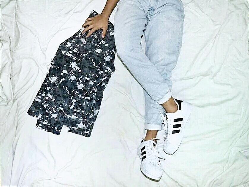 Camou X Brand with three stripes X dnm  #denim #fashion #men #photography  #retro #vintage
