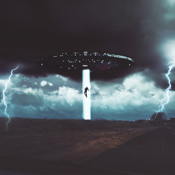 freetoedit madewithpicsart edited ufo sightseeing