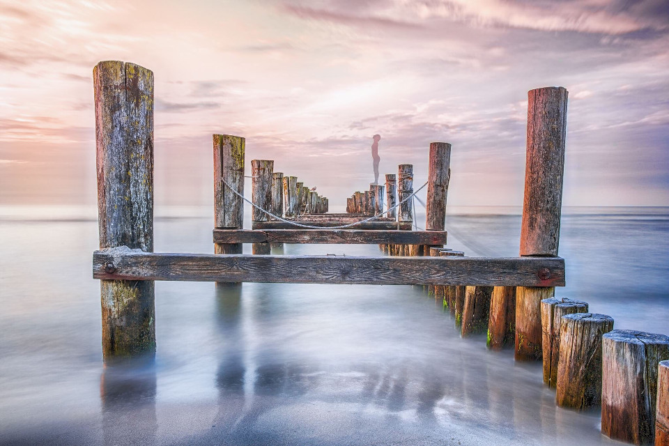 Baltic sea Pier , Germany If you like my work, follow me www.facebook.com/Aperture.8.Lichtmomente/ #landscape landscape #landscapephotography #landscape_captures #landscape_lovers #naturephotography #nature nature