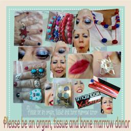 dialysis dialysisjewelry dialysysmakeup patriotic jewelry