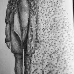 art blackandwhite drawing fineart sketch