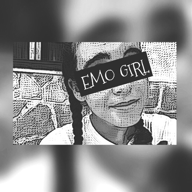EMO GIRL  #emo #emogirl #kawaii