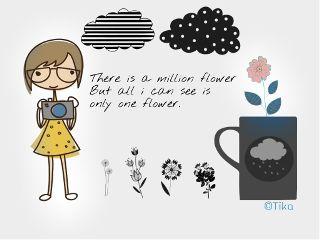 flower art love