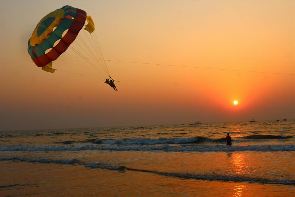 #sunset#beach#goa#india#landscape #photography #picoftheday #nature #indiapictures