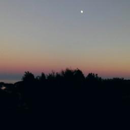 colorful sea sunset travel