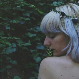 photography photoart shoot whitehair pale freetoedit