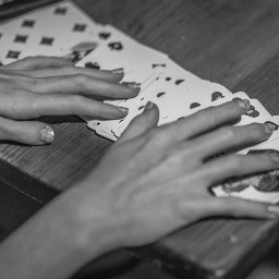blackandwhite cards photography people friends